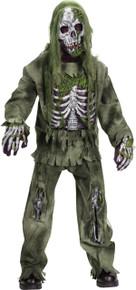 Skeleton Zombie Kids Costume