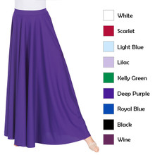 "Adult 35"" Long Circle Skirt w/ Elastic Waistband"