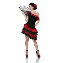 Caliente Spanish Flaminco Dancer Costume
