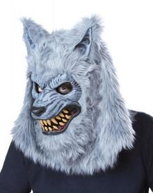 Gray Lycan Werewolf Costume w/ AniMotion Mask