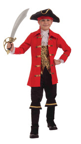 Captain Cutlass Pirate Costume Kids