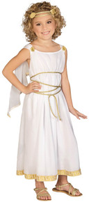 Grecian Goddess Costume Kids