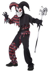 Sinister Jester Boy's Costume