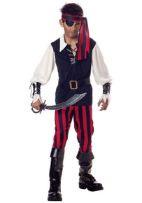 Cutthroat Pirate Costume Kids