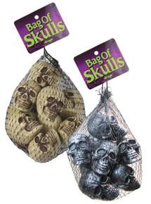Bag of Skulls Mini (12) (91032)