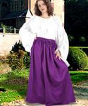 Eleanor Cotton Skirt Renaissance / Pirate Style