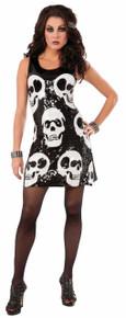 Sequin Skull Dress