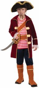 Pirate Captain Kids Costume Deluxe