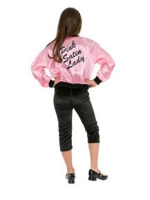 Pink Ladies Jacket Kid's Satin