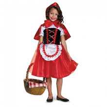 Little Red Riding Hood Dress & Cape (84091)