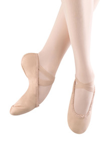 Ladies Belle Full Sole Ballet Pink Slipper