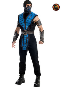 Mortal Kombat X Licensed Sub Zero Men's Costume