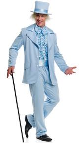 Blue Tuxedo Set: Jacket, Pants, Cumberbun & Dickey