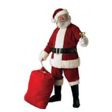 Santa Suit Ultra Velvet 6pc Std (40-48), XL (50-56), XXL (58-60)