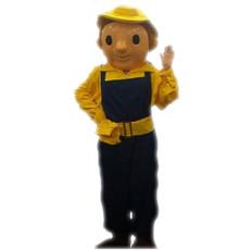 Builder Boy Mascot