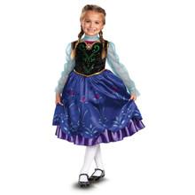 Frozen Licensed Anna Deluxe Costume Disney Princess