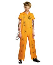 Escaped Convict Kids Dirty Prison Uniform