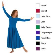 Ladies Long Sleeve Dance Dress