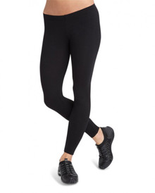 Ladies Black Low Rise Ankle Legging