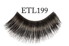 Eyelashes Black Thick & Long (no adhesive)