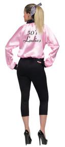 50's Pink Ladies Jacket Adult