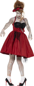 Rockabilly 50's Zombie Dress