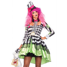 Deliriously Mad Hatter W/Headband (85459)