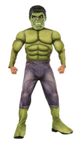 Avengers Kids Deluxe Hulk Muscle Suit Licensed Age of Ultron
