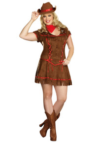 Giddy Up Full Figure Ladies Cowgirl (8216X)
