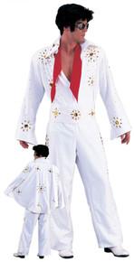Rent:Rhinestone Elvis Jumpsuit