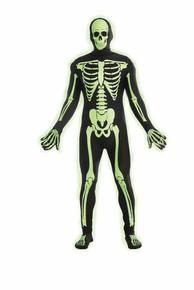 Disappearing Man Skeleton Glow In The Dark
