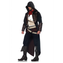 Assassin's Creed Unity Arno Dorian Men's Deluxe Cosplay Costume (AS85353)