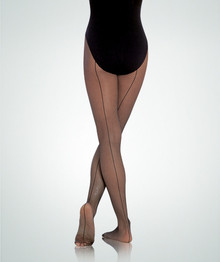 Ladies Backseam TotalSTRETCH Fishnet Tights
