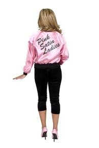 50's Satin Pink Ladies Jacket Plus Size
