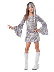 Disco Darling Girl's 70's Costume