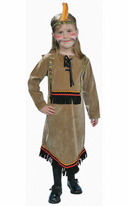 Indian Girl Native American Costume Kids