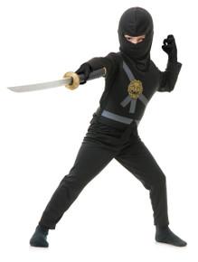 Ninja Avengers Kids Costume Set - Black