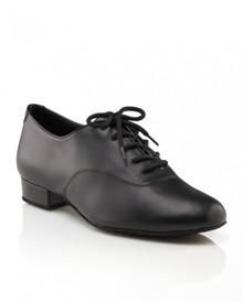 Men's Basic Black Ballroom Shoe