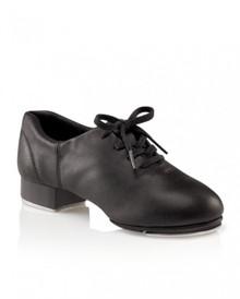 Girl's Black Flex Mastr Split Sole Tap Shoe