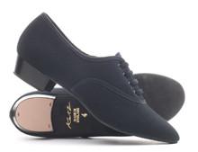 Boys Syllabus Canvas Oxford Character Shoe Black (BOYSYL)
