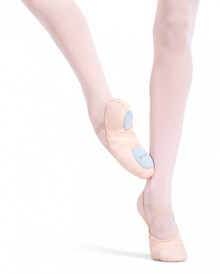Child Canvas Juliet Split Sole Ballet Shoe Light Ballet Pink