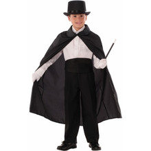 /magician-cape-36-black-with-collar-child-size/
