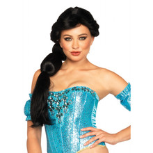 Arabian Beauty Wig Long Braided Black Hair