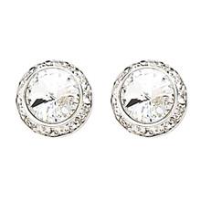 13MM Swarovski Crystal Clip-on Earrings (2712CCR)