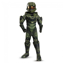 HALO Master Chief Prestige Edition Muscle Suit Kids Costume
