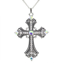 /aurora-rhinestone-cross-necklace/