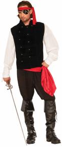Buccaneer Captain's Vest Black