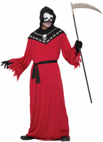 Demon Reaper Robe with Hood and Mask