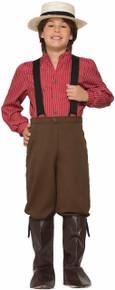 Pioneer Boy Kids Costume
