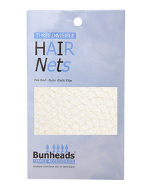 3 Pack Professional Dance Hair Nets - Auburn